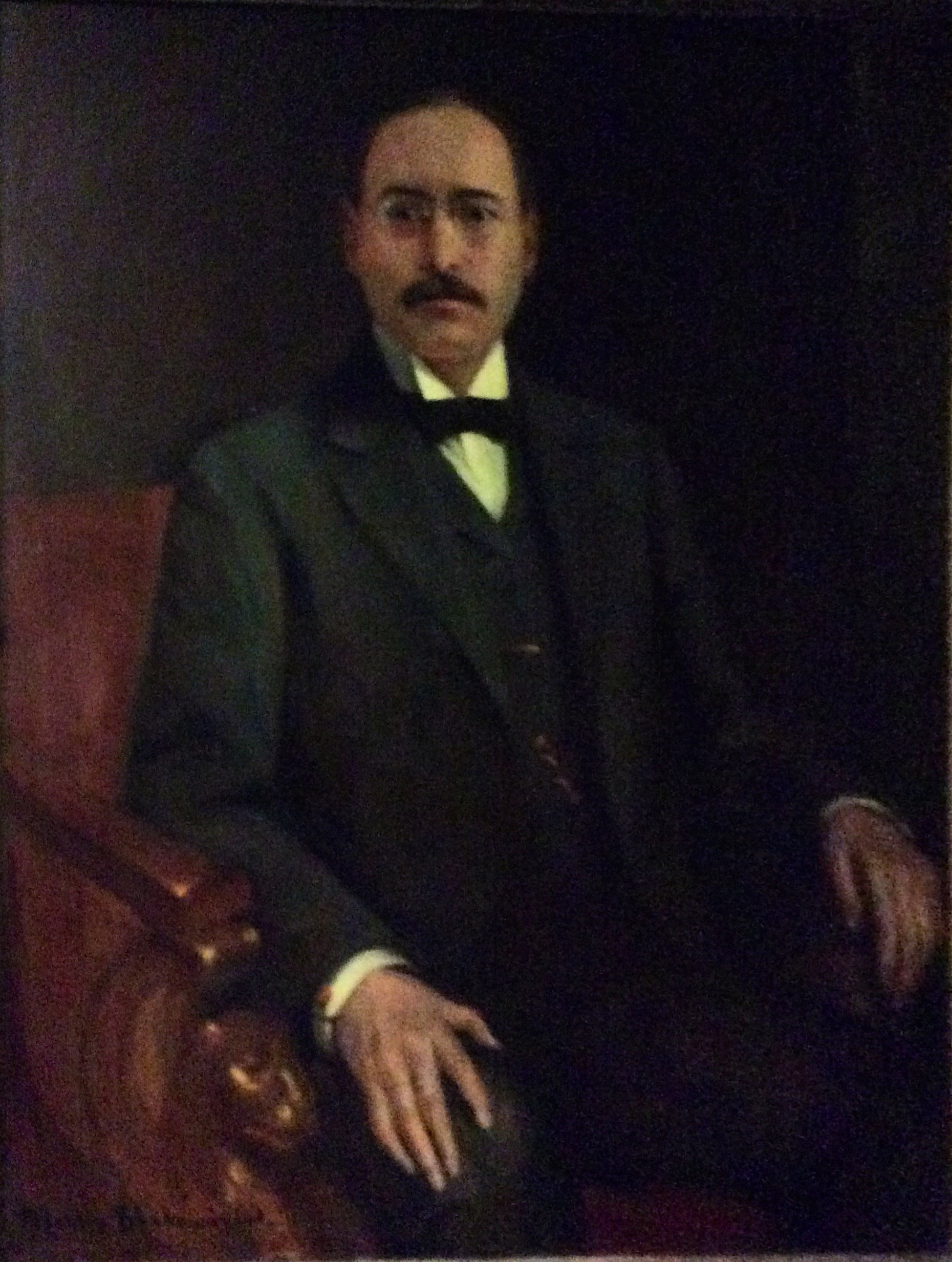 Official Club Portrait of Percy Wenrich
